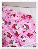 ♥小花花日本精品♥ Hello Kitty 棉布 桌巾 提袋 口罩布 門簾 多功能布材 一碼90公分 日本製