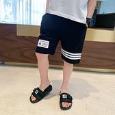 男童短褲 男童短褲夏裝新款中大童夏季純棉兒童褲子休閒運動褲-Ballet朵朵