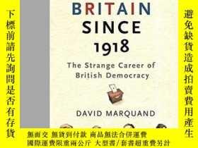 二手書博民逛書店Britain罕見Since 1918Y255562 David Marquand Orion 出版2008