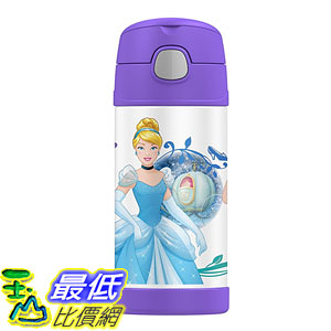 [美國直購] Thermos 兒童保溫水壺 12 Ounce Funtainer Bottle Princess 公主殿下 F4015PN6