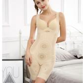 塑身衣女 產後保養美體衣 加強版連體束腰提臀束身衣美體塑形減肚子束腹收腹褲《小師妹》yf2173