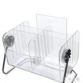 放電視遙控器收納盒 客廳桌面收納盒 茶幾創意透明儲物盒收納架 三角衣櫃