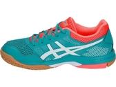 ASICS 亞瑟士 女排羽球鞋 (藍綠橘) GEL-ROCKET 8 排羽鞋款 B756Y-300【 胖媛的店 】