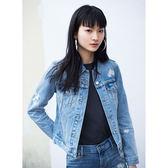 牛仔外套 女裝 / Original經典版型 / 花紋刺繡 - Levis