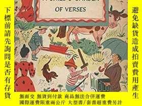二手書博民逛書店A罕見Child s Garden of Verses(斯蒂文森