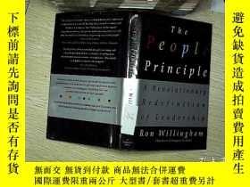 二手書博民逛書店The罕見people principle (人民原則)Y203