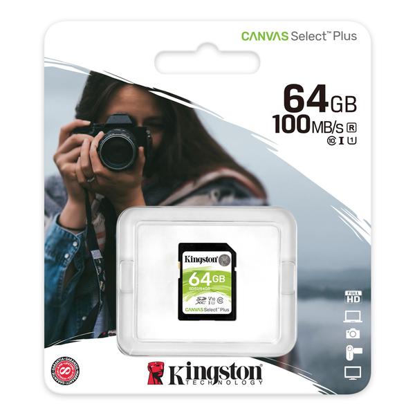 Kingston 金士頓 64G 64GB SDXC SD UHS-I U1 C10 V10 記憶卡 (SDS2/64GB)