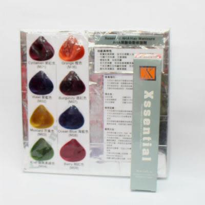 Xssential AHA Hair Manicure 果酸染髮修護劑 85ml (8色)