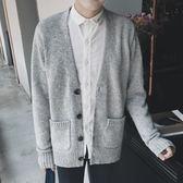 針織衫外套休閒開衫毛線上衣寬松毛衣