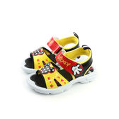 Disney 迪士尼 米奇 涼鞋 童鞋 黃色 中童 no908