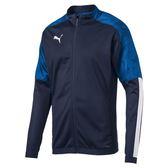 Puma Cup 男女 深藍 外套 印花 立領 風衣外套 防風 自行車 擋風外套 運動 健身 外套 65601102