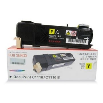 【原廠公司貨】富士全錄 原廠黃色高容量碳粉匣 CT201117 適用 DocuPrint C1110(B) 雷射印表機