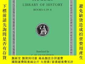 二手書博民逛書店Diodorus罕見Siculus: The Library O