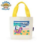 Sanrio 蛋黃哥5週年夏日假期系列帆布迷你提袋★funbox★_026603N