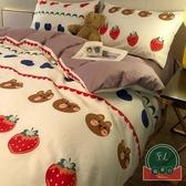 【1.5m/1.8m】床上四件套全棉可愛卡通被套床單【福喜行】