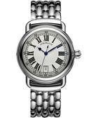 AEROWATCH Elegance 羅馬復刻機械腕錶-銀/40mm A60900AA01M