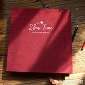 手繪相冊diy手工黏貼式紀念冊創意情侶可以寫字的影集本生日禮物 雙十二全館免運