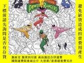 全新書博民逛書店MightyMorphin Power Rangers Adult Coloring BookY410016