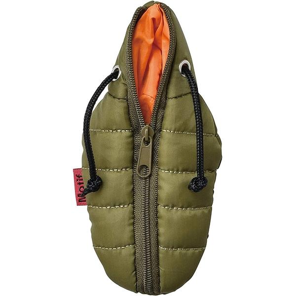 SETO CRAFT 睡袋造型零錢包 附登山扣環(綠)_OC09626