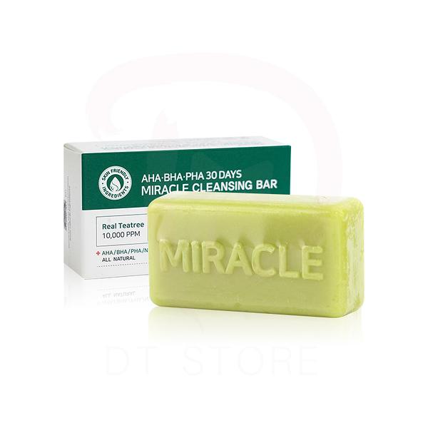 韓國 SOME BY MI 30天奇蹟皂 洗臉皂 肥皂 SOMEBYMI 95g【DT STORE】【2716015】