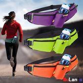 腰包防盗包 運動腰包 手機包 多功能 水壺包 大容量 實用 耐磨 防水 伊人閣