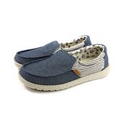 Hey Dude 休閒鞋 帆船鞋 帆布 女鞋 牛仔藍/條紋 HD2002-805 no011