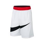 Nike 短褲 Dri-FIT Basketball Shorts 白 黑 男款 籃球褲 運動休閒 【ACS】 BV9386-100