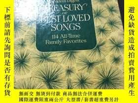 二手書博民逛書店TREASURY罕見OF BEST LOVED SONGS, 1