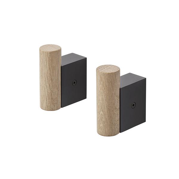 丹麥 Muuto Attach Coat Hooks 2pcs 附著系列 壁面 衣帽勾 兩件組