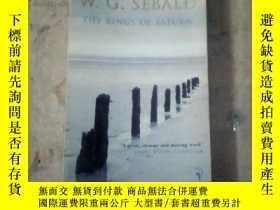 二手書博民逛書店the罕見rings of saturn(英文原版)11905