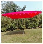 擺攤雨傘戶外長方形門面大傘遮陽擋雨庭院傘中柱鍍鋅鋼管隔熱大傘『快速出貨YTL』
