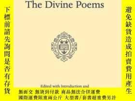 二手書博民逛書店The罕見Divine Poems (oxford Englis