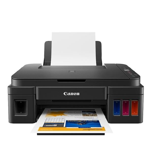 【限時促銷 不適用登錄活動】Canon PIXMA G2010 原廠大供墨複合機 保固一年