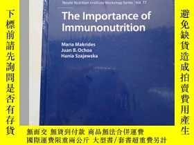 二手書博民逛書店The罕見Importance of Immunonutrition 未拆塑封Y7951 見圖 見圖