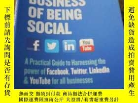 二手書博民逛書店The罕見Business of Being SocialY15