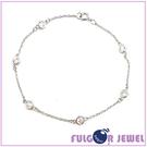 【Fulgor Jewel】銀飾 手鍊 意大利流行 韓版細致鋯石925純銀手鍊