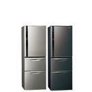 Panasonic國際牌385公升三門變頻冰箱絲紋黑NR-C389HV-V
