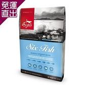 Orijen渴望 成犬 六種鮮魚+海藻配方 犬糧 11.4公斤 X 1包【免運直出】
