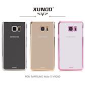 ☆愛思摩比☆ XUNDD SAMSUNG Note 5 N9200/N9208 爵士電鍍保護殼 保護套 透色殼 超薄硬殼