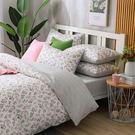 鴻宇 雙人床包組 100%精梳純棉 夏。茉莉 台灣製2151