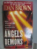 【書寶二手書T1/原文小說_MLR】Angels & Demons_Dan Brown