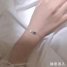 銀宇宙星空星球手鏈簡約個性設計感小眾學生手環韓版閨蜜飾品女 HX3500【極致男人】