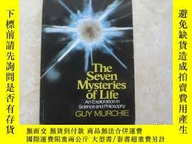 二手書博民逛書店the罕見seven mysteries of life an wxploration in science an