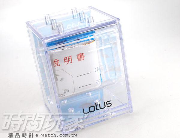 Lotus 大存在感 多功能雙顯錶 電子錶 學生錶 飛行錶 迷彩 男錶 軍錶 TP3176M-05彩黑