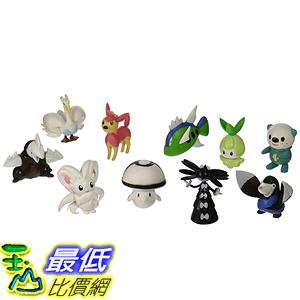 [美國直購] 神奇寶貝 精靈寶可夢周邊 Pokemon B002Y32D92 Random 1-3 Inch Characters, Lot of 10