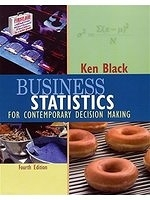 二手書博民逛書店 《Business Statistics: For Contemporary Decision Making》 R2Y ISBN:047142983X│Black