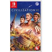 [哈GAME族]免運費 可刷卡●歐版可更新為中文●Switch NS 文明帝國 6 中文版 Civilization 6