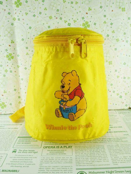 【震撼精品百貨】Winnie the Pooh 小熊維尼~手提背包-黃
