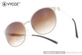 VYCOZ 太陽眼鏡 LANGKER WHIWH (米白) 薄鋼工藝 半圓框休閒款 # 金橘眼鏡