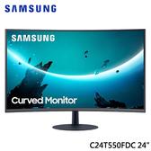 Samsung 三星 C24T550FDC 24型 75Hz 1080P 1000R曲面 VA面板 液晶 螢幕 顯示器